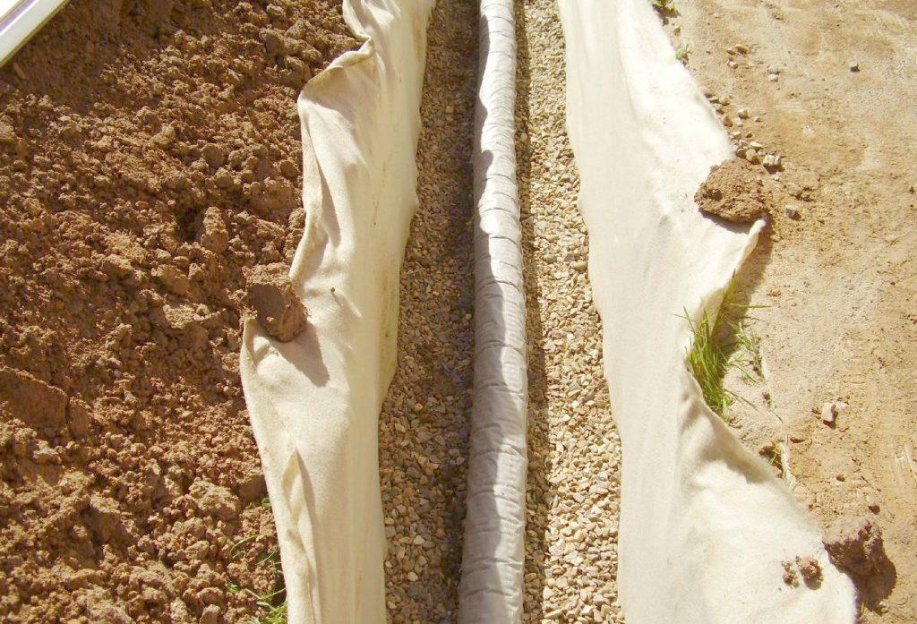 Дренажная канва: какие виды бывают и как сделать на участке своими руками